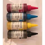 Tinta Sublimacion Premium Pack 4x100 Ml.