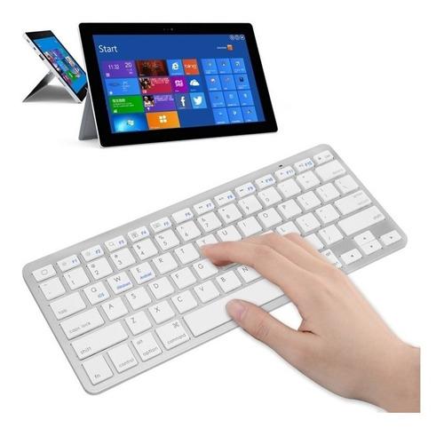 Teclado Inalambrico Bluetooth Windows Mac Bateria Incluida