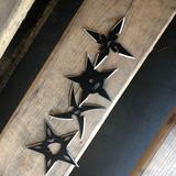 4 Estrellas Ninja Para Lanzar Con Funda Kunais Dagas 431-4