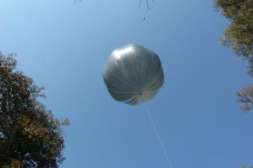 Globo Aerostático Solar 1.8 Mts. Para Fiestas Y Eventos.
