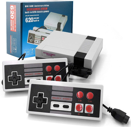 Consola Juegos Family + 2 Joystick 620 Juegos Incorporados