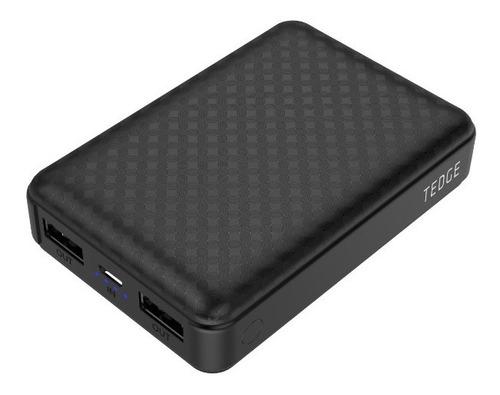 Cargador Batería Portátil Powerbank 2 Usb 10000 Mah Tedge