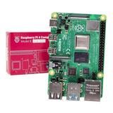 Raspberry Pi 4 Model B 2gb Element14 Uk Placa Sbc Original