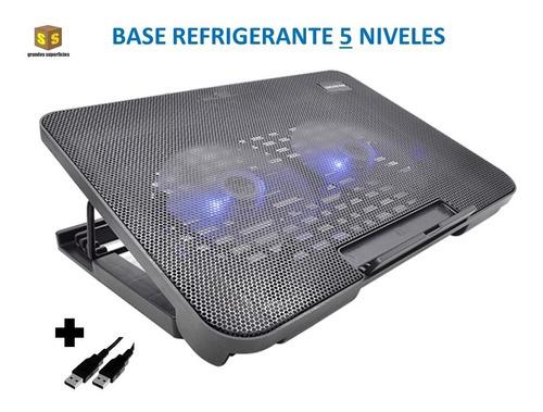 Base Refrigerante A2 Cooling Pad 2 Ventiladores 6 Niveles@gs