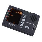 Afinador Y Metronomo Para Cualquier Instrumento Wmt 555c
