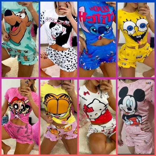 Pack De 9 Pijamas Animados Gran Oferta