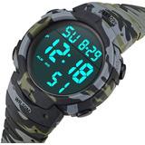Reloj Hombre Raktors B-12 Digital Deportivo Bajo Agua 50mts