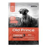 Old Prince Novel Adulto Cordero Y Arroz X 15 + 3 Kg.