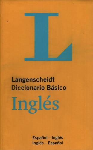 Langenscheidt Diccionario Basico Ingles Español-ingles / Ing