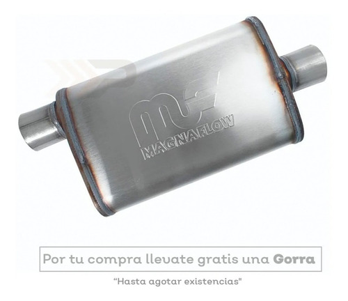Silenciador Deportivo Magnaflow Lado/centro