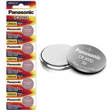 Pilas Baterias Panasonic Cr2032 Paquete De 5 Piezas Original