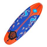 Tabla De Surf Espuma Funboard Soft + Quillas + Leash El Rey