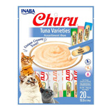 Inaba Churu Tuna Varieties Bolsa Con 20 Tubos De 14 Grs C/u