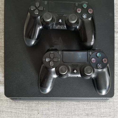 Playstation 4 Slim 1tb Con 7 Juegos Y Dos Controles