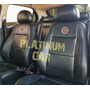 Capa Banco Carro 100% Eco Couro Fiat + Capa De Volante Original