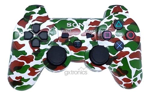 Joystick Play 3 Inalambrico Sony Dualshock 3 Camuflado Ps3