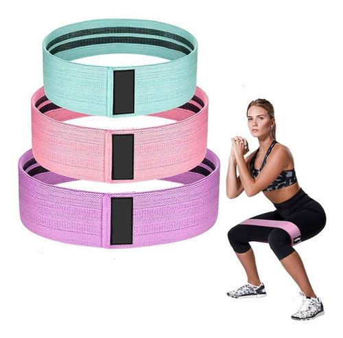 Mini Banda Circular Tela Yoga Pilates Irrompible Hip Crazy