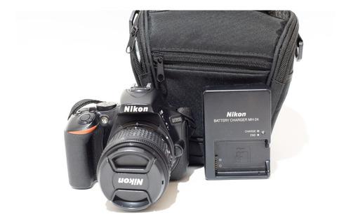 Cámara Reflex Nikon D5600 18-55 Vr 3500 Disparos