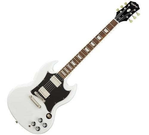 Guitarra Eléctrica EpiPhone Sg Standard Color Blanco