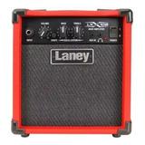 Amplificador Laney Lx Lx10b Transistor Para Bajo De 10w Color Rojo 220v - 240v