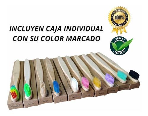 Cepillo De Dientes Bambú, Caja - Unidad a $1900