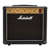 Amplificador Marshall Dsl Dsl5cr Combo Valvular 5w Negro Y Dorado 230v