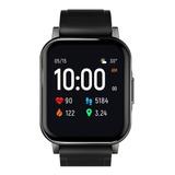 Smartwatch Haylou Smart Watch 2 1.28  Malla  Black De  Silicona Ls02