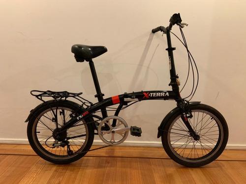 Bicicleta Plegable X-terra Fx20