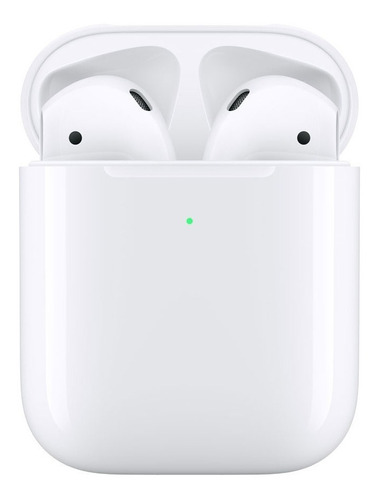 Auriculares Apple AirPods Gen 2 Carga Inalambrica Mrxj2be/a