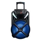 Caixa De Som Sumay X-prime 600bt Portátil Com Bluetooth Preta 100v/240v