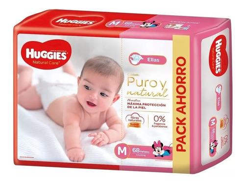 Huggies Puro Y Natural Pack Mensual Todos Los Talles