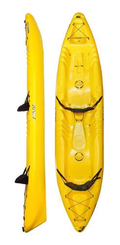 Kayak Hidro2eko Solar Duo Amarillo - Kayaks Feelfree