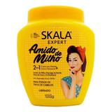 Skala Amido De Milho Máscara Pelo Vegana Crema Peinar 1kg