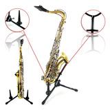 Atril Para Saxofon Alto Tenor Clarinete Soundking Mc