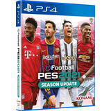 Efootball Pes 2021 Season Update Ps4 Fisico Español Latino