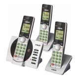 Teléfono Inalámbrico Vtech Cs6929-3 Gris
