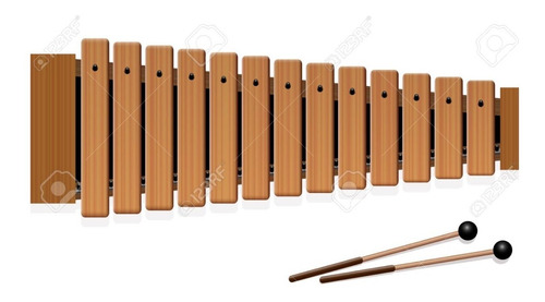 Xilófono, Metalófono 2 Octavas De 15 Notas Ars Bell Venturi