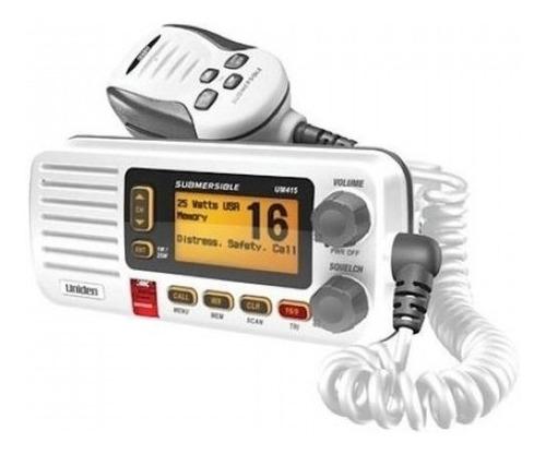 Radio Vhf Uniden Solara Um415 Marítimo Homologado Anatel Nfe