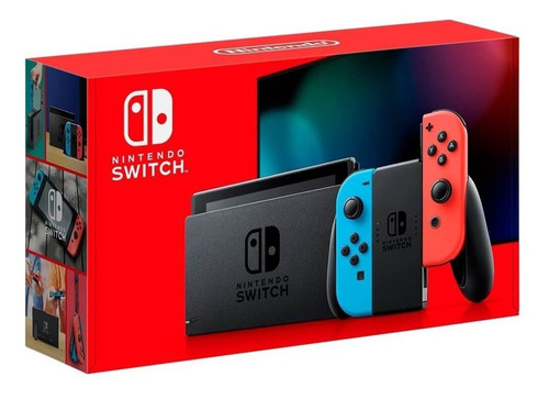 Nintendo Switch Neon O Gris V2 Stock Disponible 220 Xuy