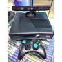 Xbox 360 Slim Desbloqueado Rgh Com 100 Jogos! Original