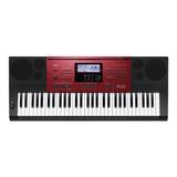 Teclado Musical Casio Ctk-6250 61 Teclas Preto