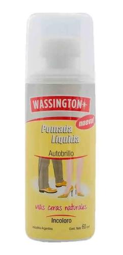 Wassington Pomada Liquida Autobrillo Incoloro X 60cm3