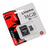 Memoria Micro Sd 16gb Clas 10 Celulares Mp3 Camaras Tabletas