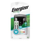 Cargador De Pilas Pro Energizer + 4 Pilas Aa