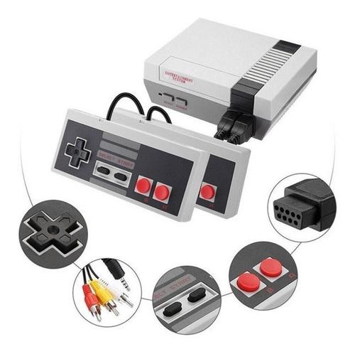 Mini Consola Retro Videojuegos Clásica 620 Juegos 2 Controle