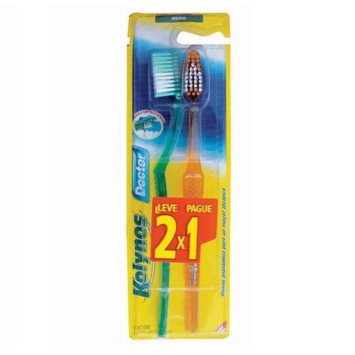 Cepillo Dental Kolynos Doctor Medio Pack X 2
