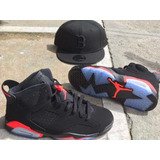 Tenis Jordan Retro 6 Infrared Ultimate 2k21