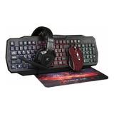 Kit Gamer Teclado, Mouse, Audífonos