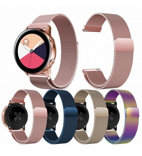 Correa Metálica Samsung Gear S2/ Active 2/ Galaxy Watch