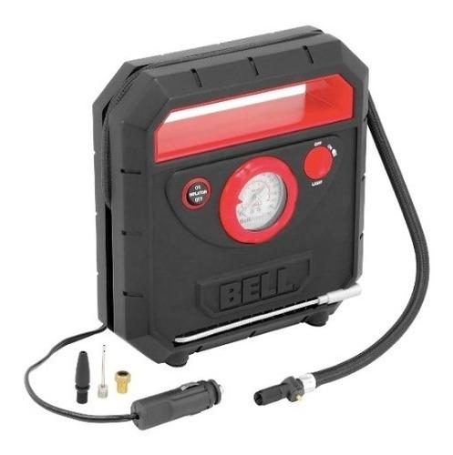 Mini Compresor Bell Inflador Led Infla 5 Min Auto Moto 12v